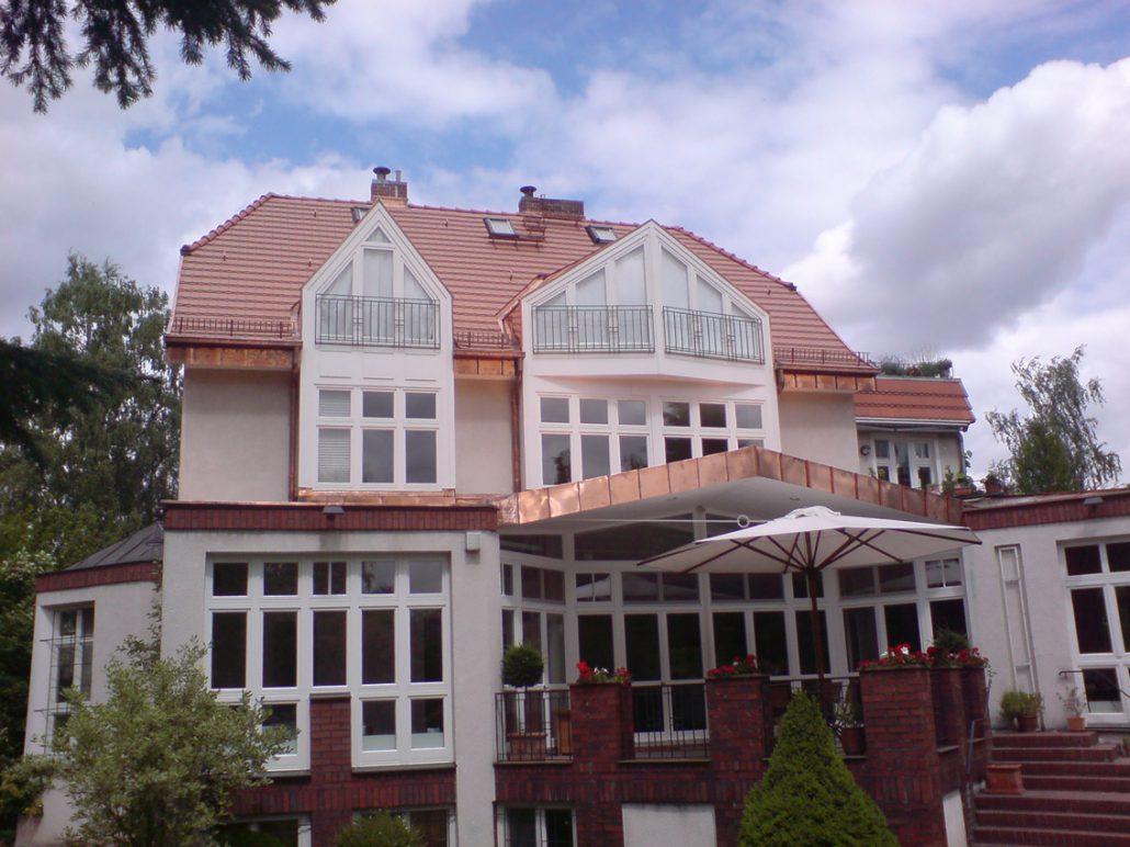 Kupferdach 1 - P&H Dachbau